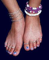 Podomancy  Reading Feet, Toes